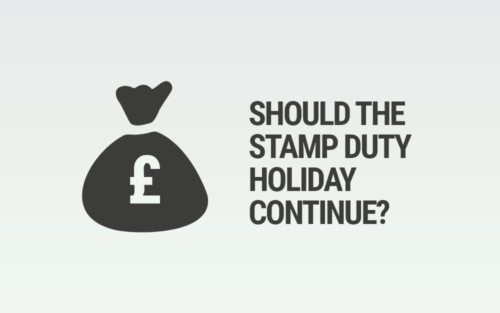 Should the stamp duty holiday continue?